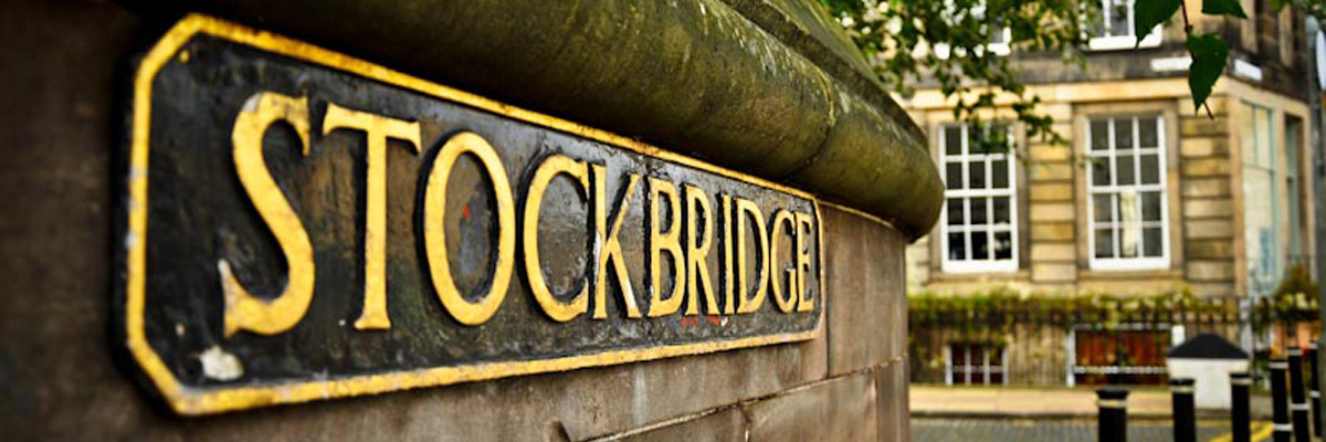 Stockbridge - a delightful area of Edinburgh