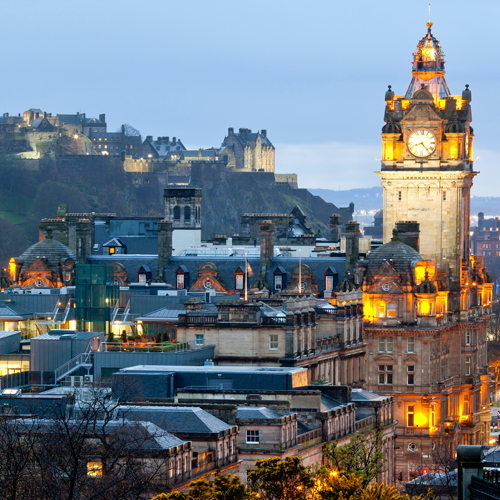 The ideal Edinburgh location for tourist attractions