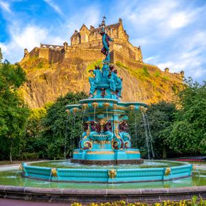 Go from day to night in Edinburgh