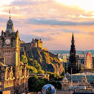 Top 4 must-visit attractions in Edinburgh